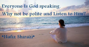 Spiritual Quotes by Hafiz Shirazi - Quotes about God