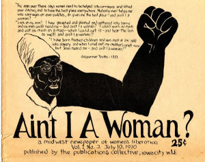 ain't i a woman. midwest newspaper of women's liberation