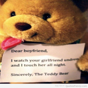 ... loveQuotess Quotes teddybear bear toy boyfriend Originalphotos Quotes