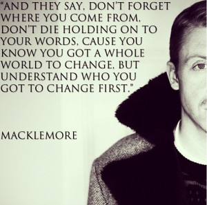 Macklemore Lyrics