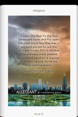 Eight new quotes from 'Allegiant' by Veronica Roth