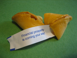 Fortune Cookie Friday - Money, money, money!