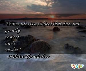 Economics Subject That Does...