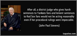 harsh sentences to Yankees fans and lenient sentences to Red Sox fans ...