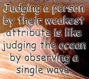 Sad, quotes, deep, sayings, meaningful, judge