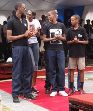 paul kagame family kagame s daughter cyomoro ivan kagame ivan cyomoro ...