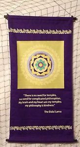 KINDNESS-Banner-INSPIRATIONAL-Quote-TAPESTRY-Cloth-DALAI-LAMA