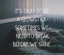 glow, quotes