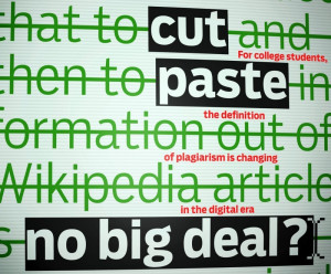 Plagiarism in the Internet Age