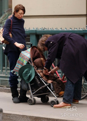 JARVIS COCKER with his wife Camille and son Albert in New YorkNew York ...