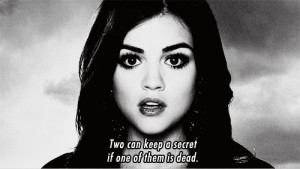 Lucy Hale Quote by GoddessSellyGomez