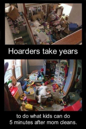Funny meme – Hoarders take years