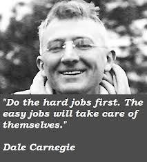 """... Jobs Will Take Care of Themselves """" - Dale Carnegie ~ Success Quote"""