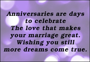 Best Saying about Anniversary