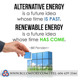 There is too much energy conversation instead of energy conservation ...