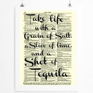 Funny Tequila Quotes And a shot of tequila,