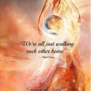 Walking together - #Ram_Dass #quote