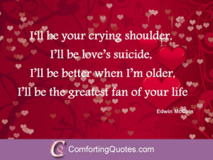sweet love quotes for her love quote for her i ll be your crying ...