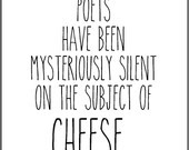 literary quote typography print funny literature tongue in cheek witty ...