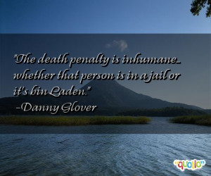 Famous Quotes Death Penalty