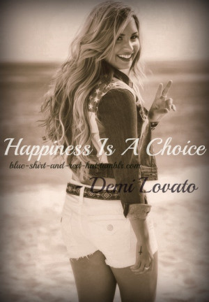 Demi lovato, quotes, sayings, happiness, celeb quote