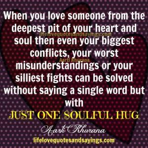 The Magic Of A Hug...