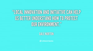 Local innovation and initiative can help us better understand how to ...