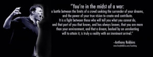 Tony Robbins, #Quote