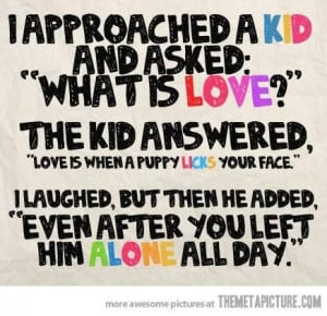 Meaning of love quotes funny