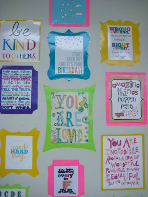 and some closer views at some of the great sayings...