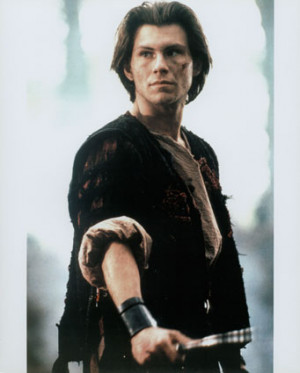 ... pray with hands clasped, as Christians do. .. Also, Christian Slater