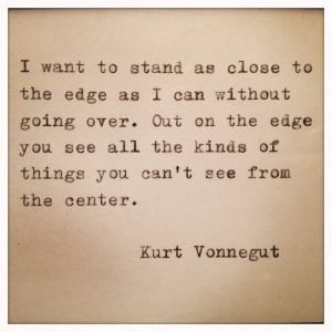 Kurt Vonnegut quote on observation