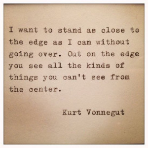 Kurt Vonnegut quote on observation