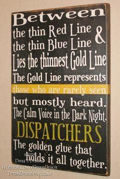 Dispatcher Week, 911 Dispatcher Quotes, Thin Dispatcher