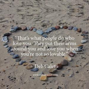Love is in the air. Deb Caletti