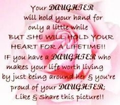 your daughter quotes quote family quote family quotes parent quotes ...