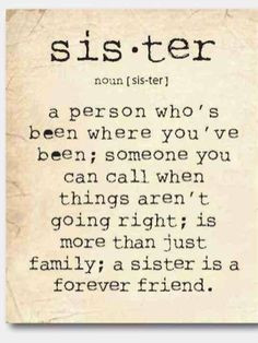 from etsy wall art a sister is a person sister quote family gift ...