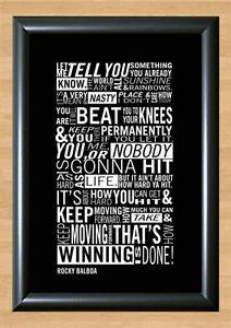 Rocky-Movie-Quote-Retro-Sylvester-Stallone-Decor-Photo-Poster-Picture ...