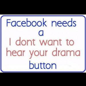 Facebook no drama