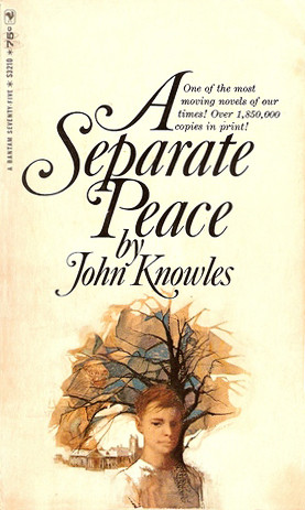 the jealousy of gene in a separate peace by john knowles A separate peace, written by john knowles, is set in a boarding school in new hampshire during world war ii this book is a remarkable novel mainly about a unique friendship between the two main characters, gene and phineas.