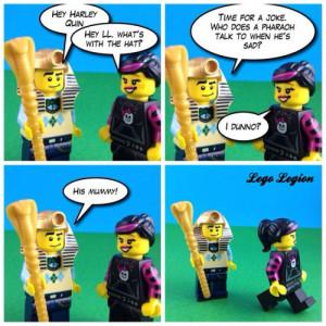 Funny unfunny jokes! Part 1Tag @harleyquin you're it!#LegoLegion # ...