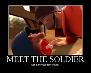 Team Fortress 2 Soldier Motivational Poster photo Tf2_Soldier ...