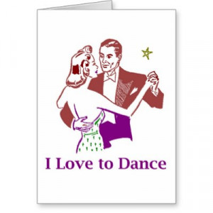 quotes about dancers. Ballroom Dancing Greeting