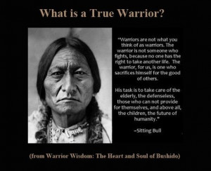 True Warrior - Sitting Bull I am so blessed to live in the same ...