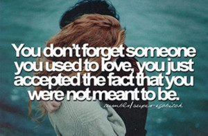 Not meant to be quote