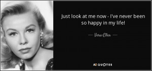 Vera-Ellen Quotes