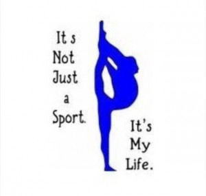 Life = gymnastics! ️ ️ ️