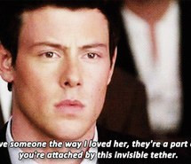 glee, love, quotes, lea michelle, cory monteinth