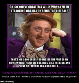 Condescending Wonka Mitt Romney Economy