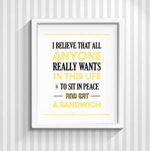 30 Rock Print, Liz Lemon Quote, Tina Fey, Typography Print, Quote ...